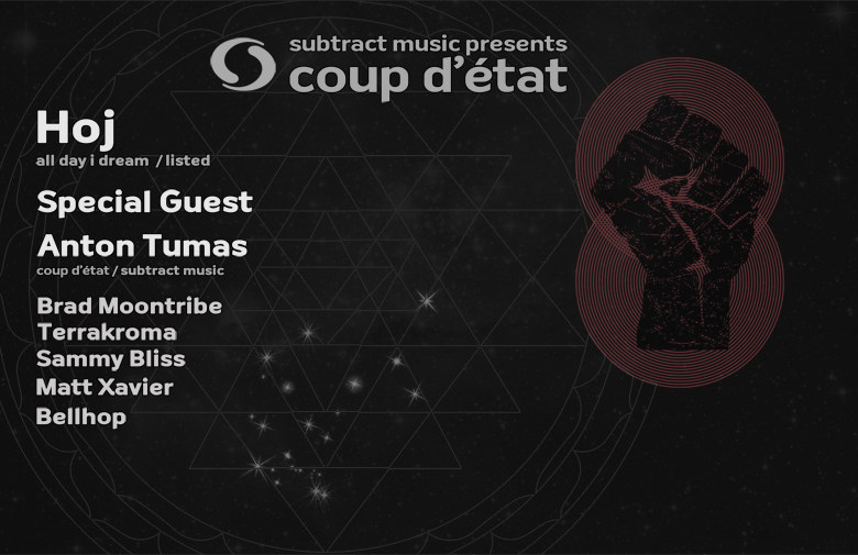 Coup d'État • Hoj & Special Guest