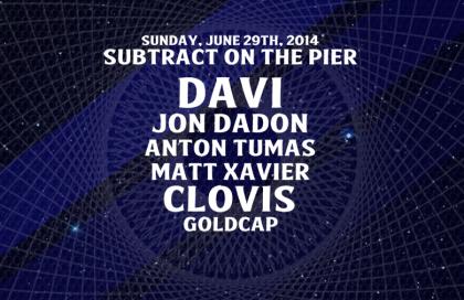 Subtract On The Pier 001: DAVÍ & Goldcap