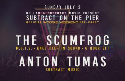 Subtract On The Pier 013: Woogie Weekend Pre-Party