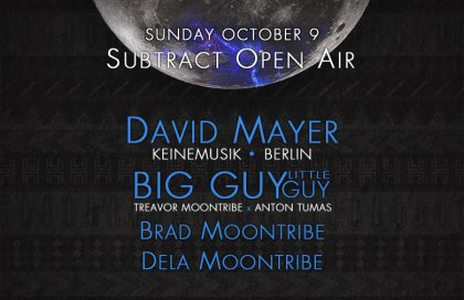 Subtract Open Air • David Mayer & BIG GUY little guy