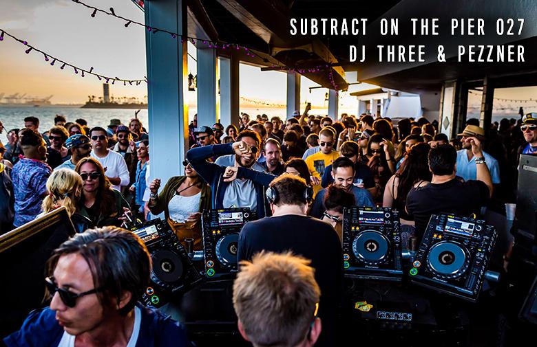 Subtract On The Pier 027: DJ Three & Pezzner